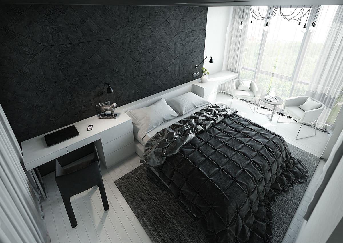 monochromtaic room