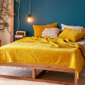 Charming Yellow Bedrooms To Brighten Your Day