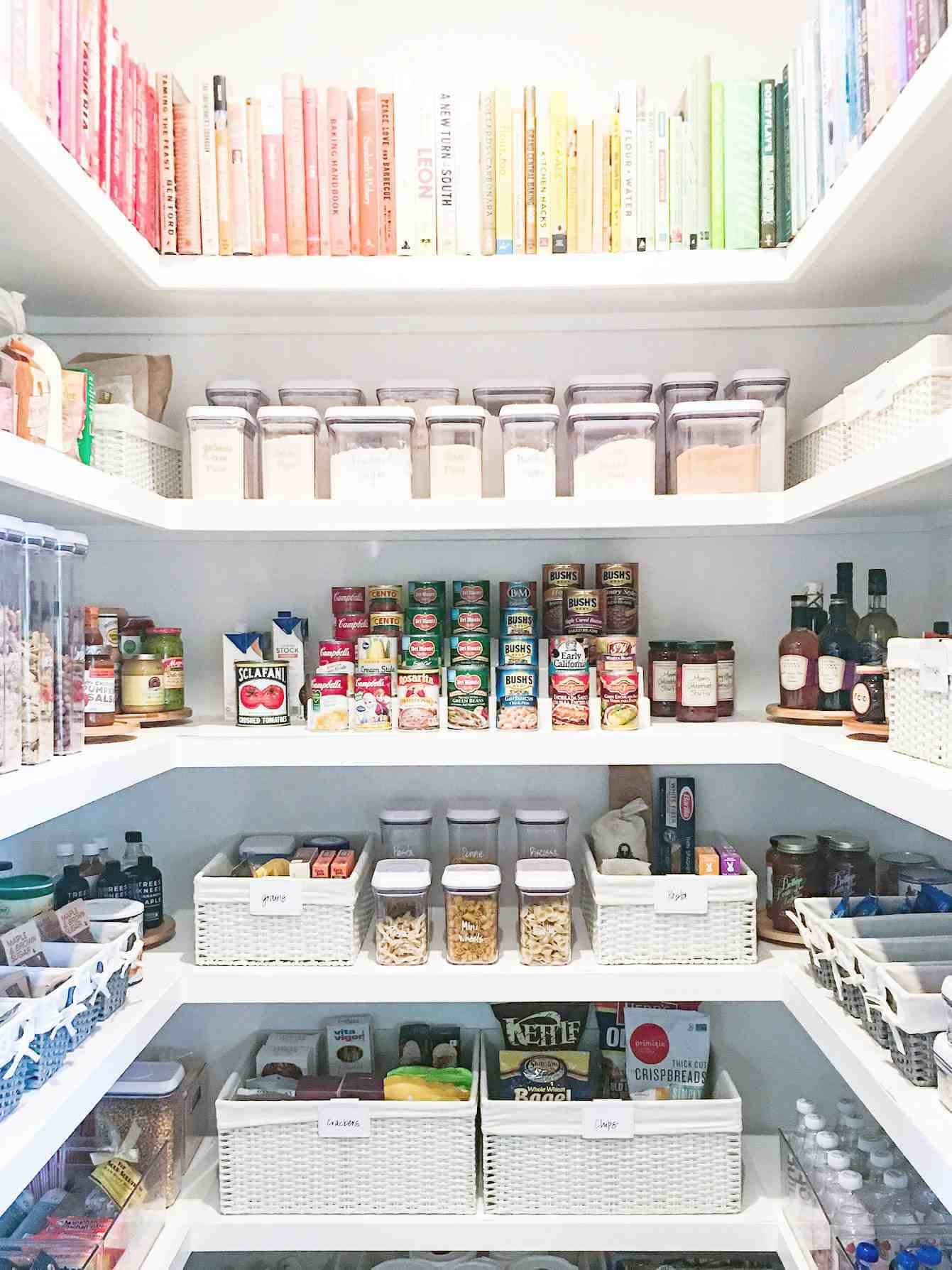 organized pantry 2 Quick and Easy Kitchen Organization