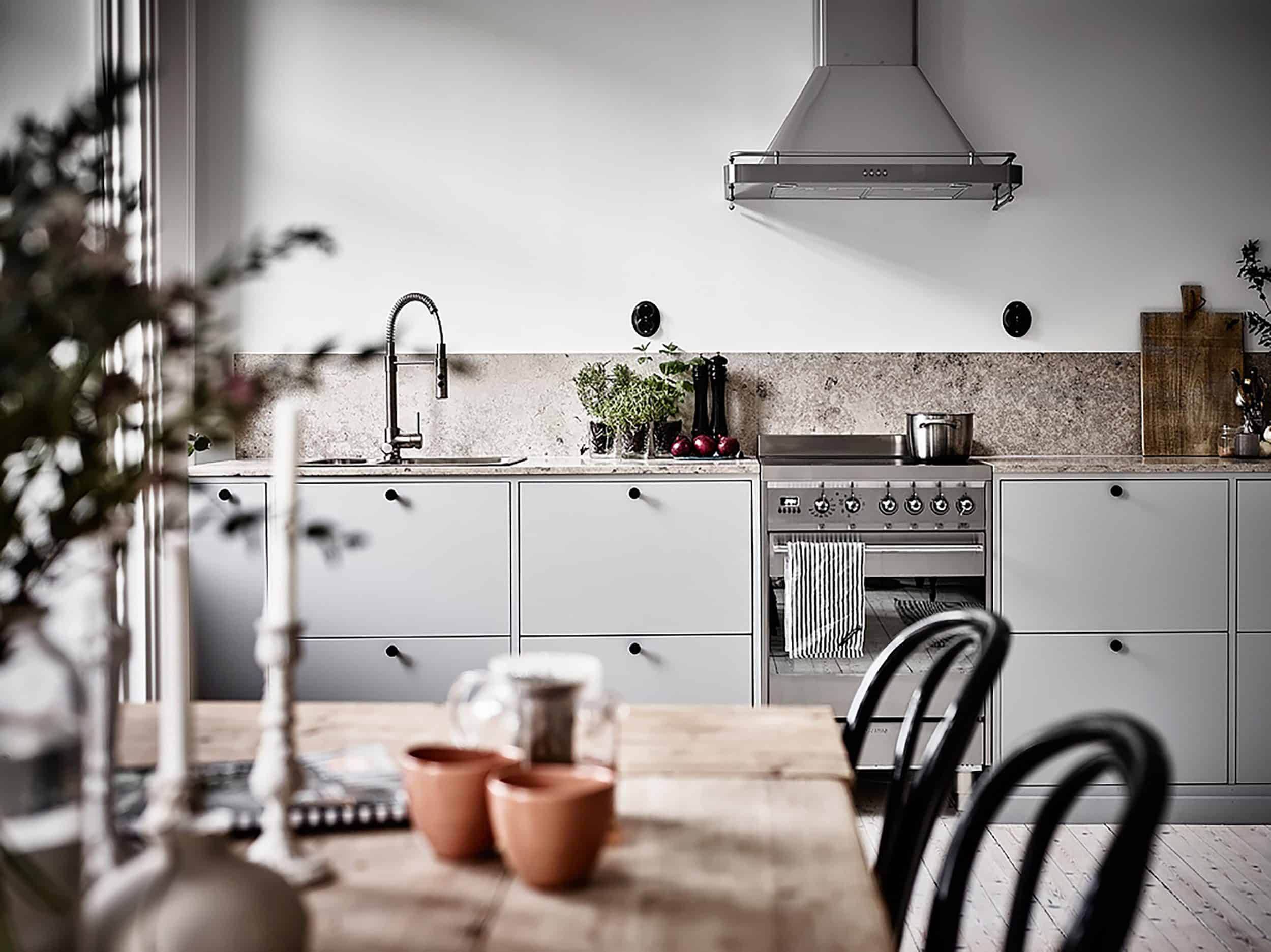 keep it minimal kitchen