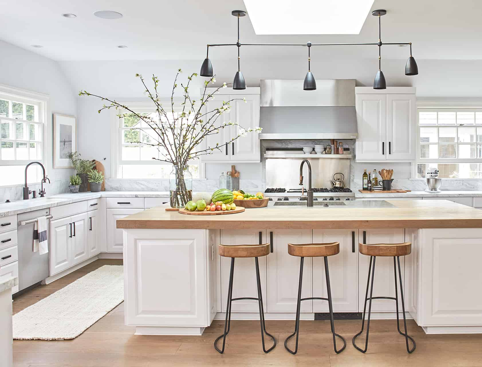 kitchen with items on countertops