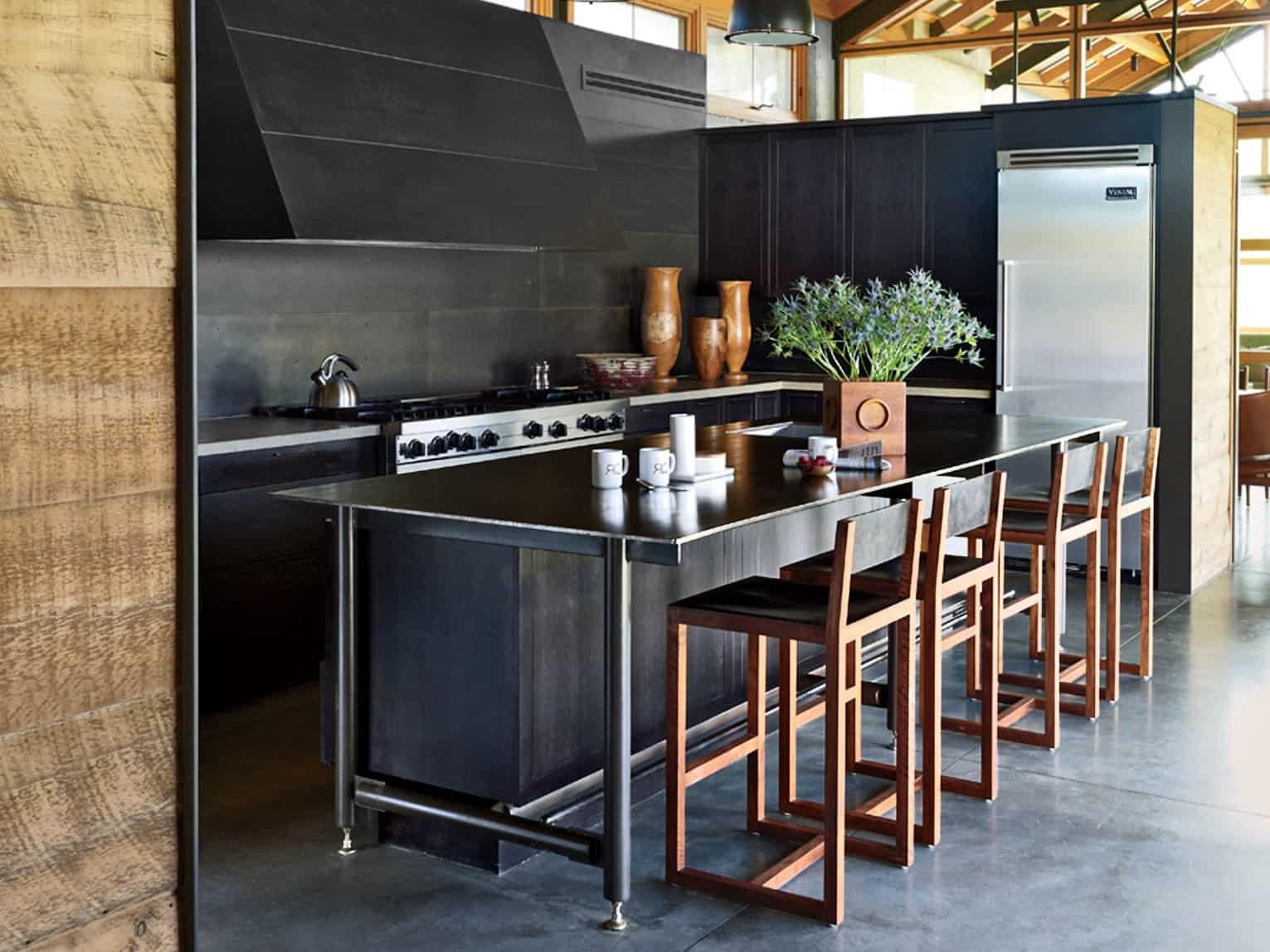 metalic stools