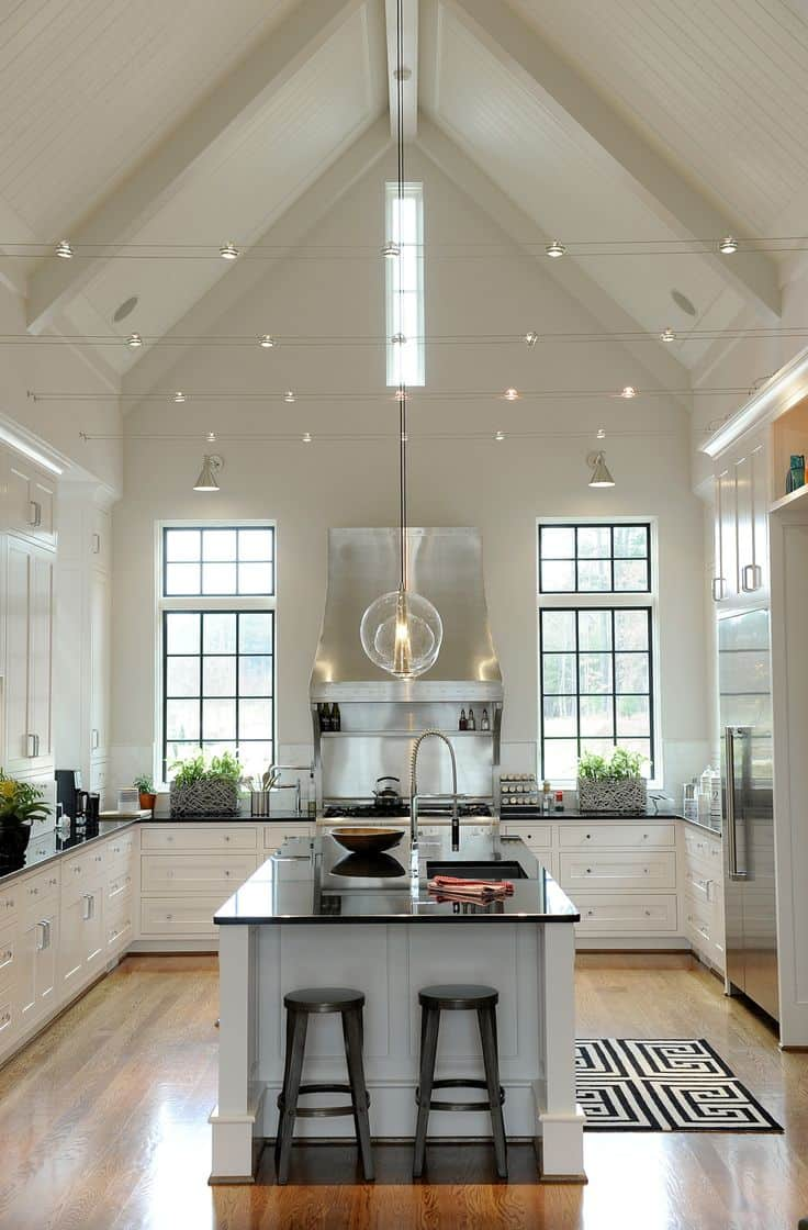 spread out lighting The Ultimate Kitchen Lighting Guide