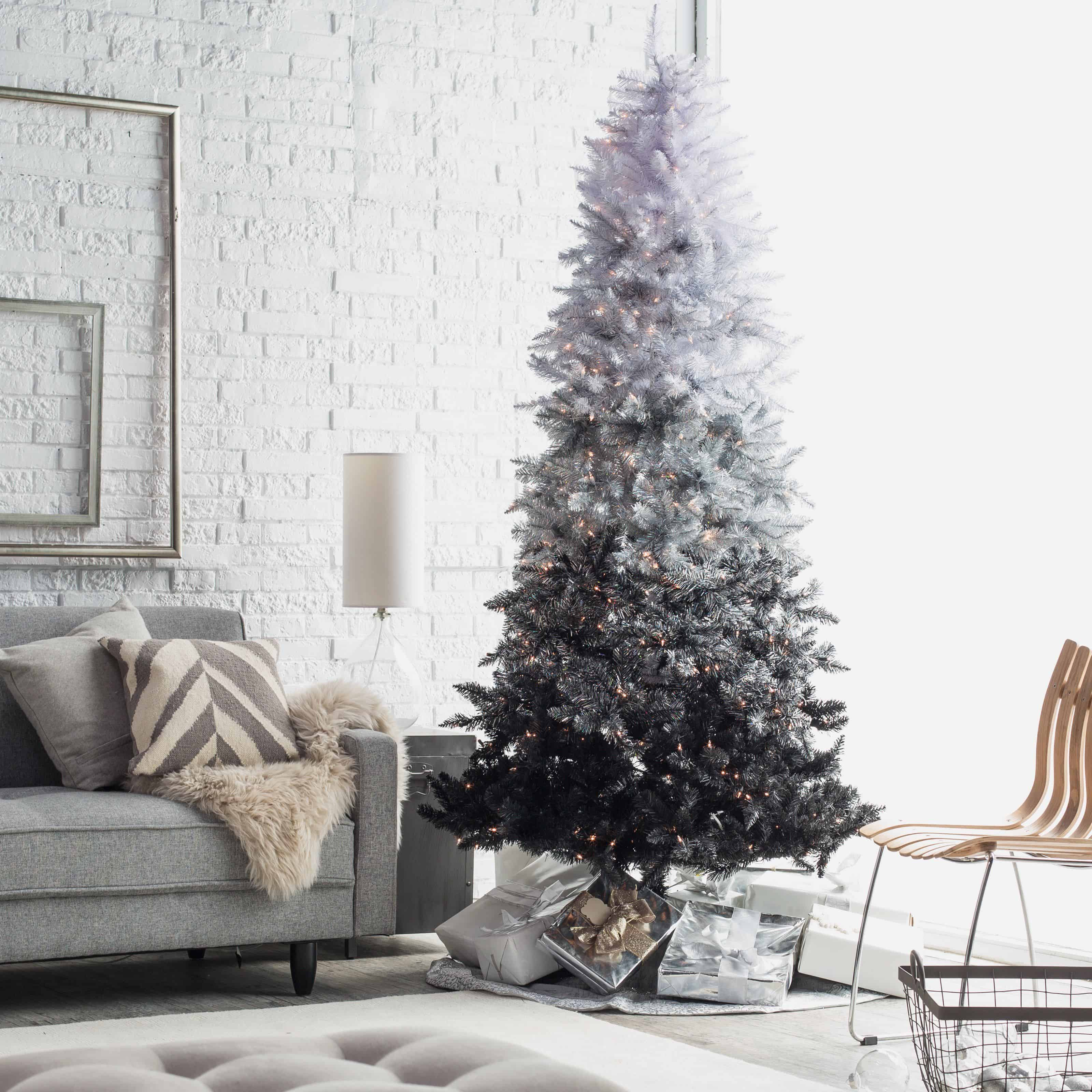ombre modern tree
