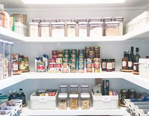Pantry organization ideas that will change your life