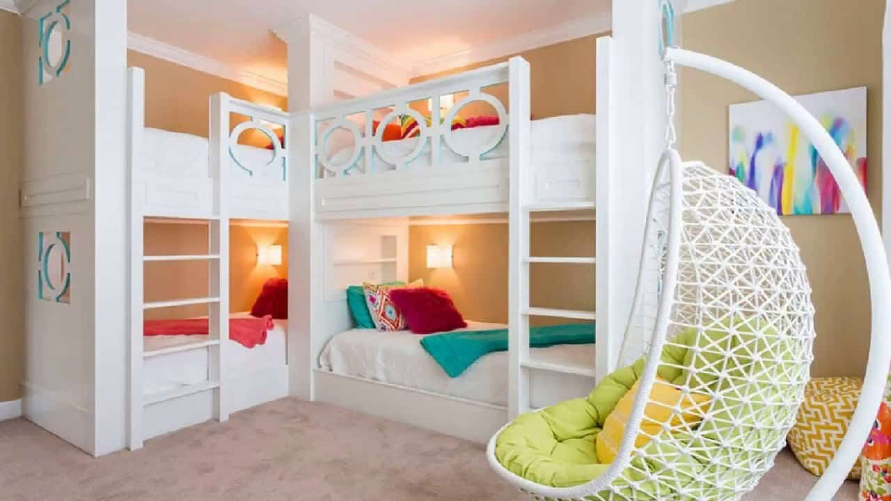 work with thw room Children's room revamp: Updating your bunk beds
