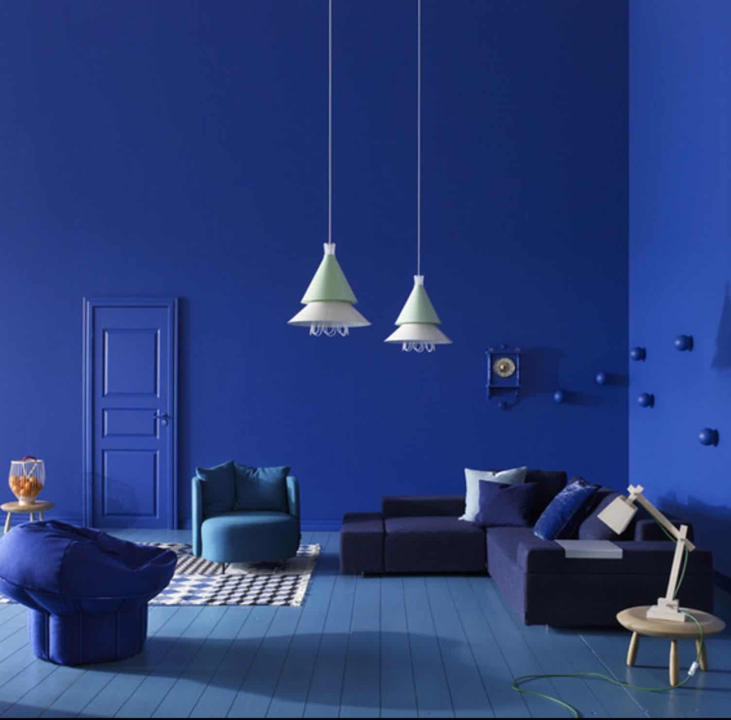 cobalt blue in the room