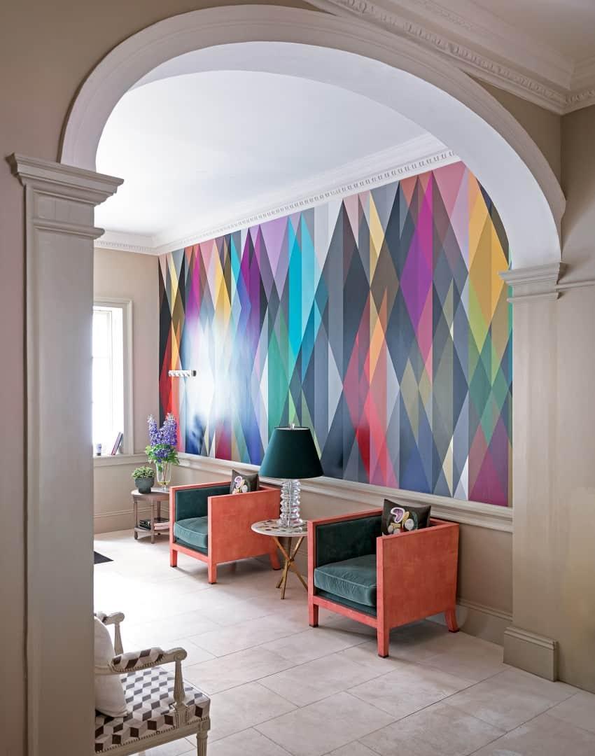 color hallway