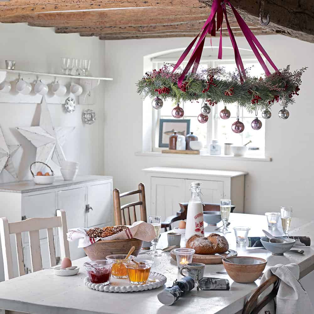 hang decor from ceiling