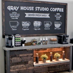 Coffee station ideas to help you make the perfect cup of java