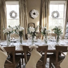Christmas Table setting ideas to brighten your Holiday Parties