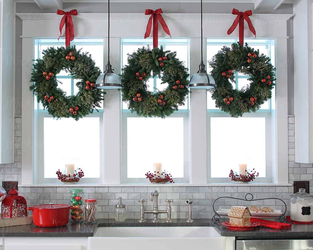 Bring holiday cheer to your kitchen with these Christmas ideas