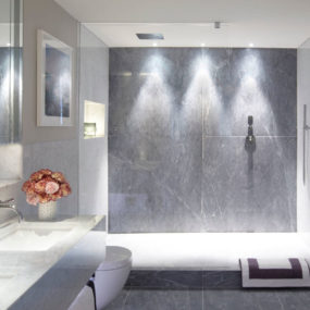 Walk-in shower ideas that bring you a Zen feel