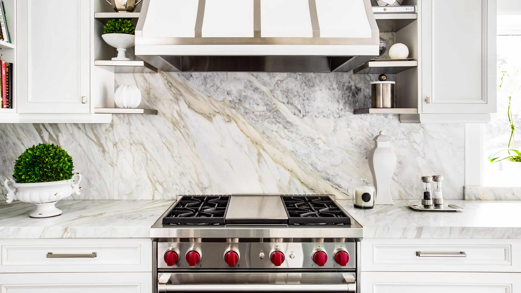 slab wall kitchen