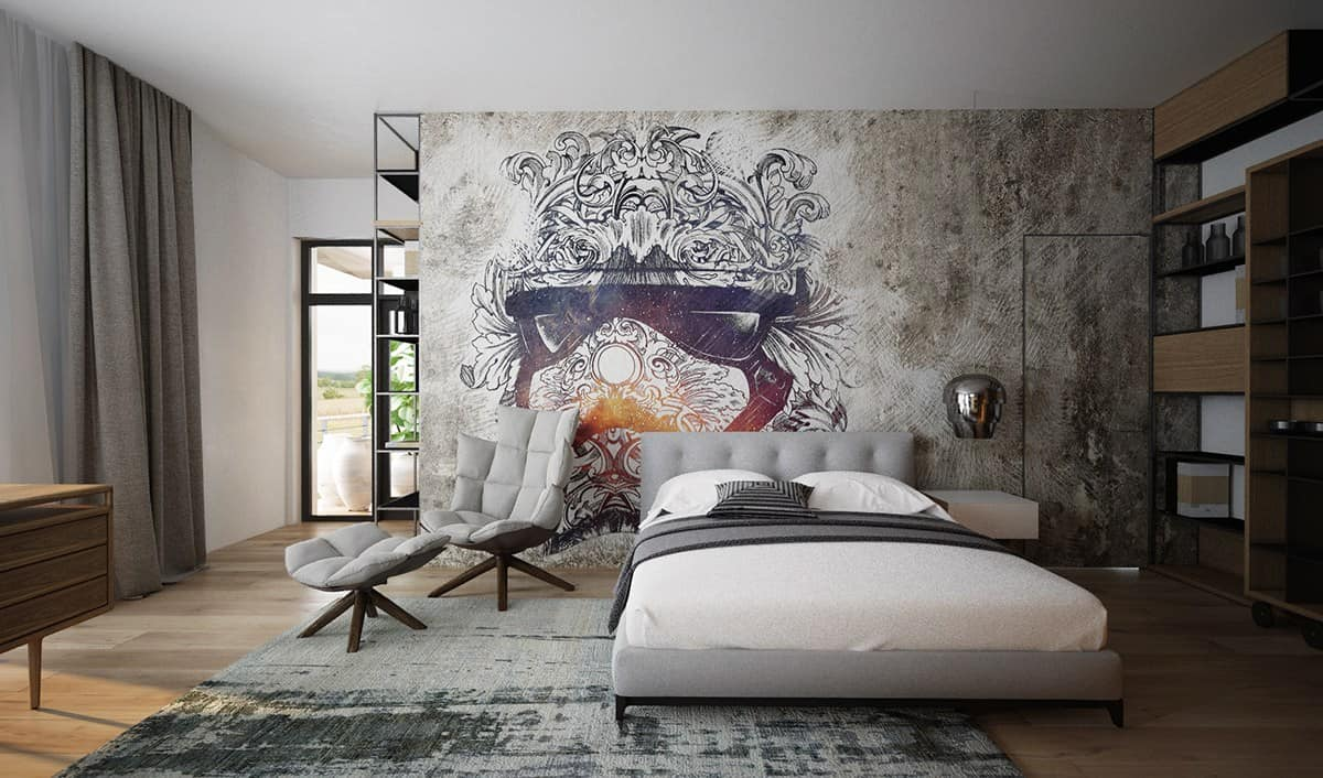 bedroom with art How To Create A Luxury Touch In Your Bedroom