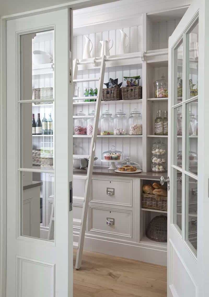 french pantry doors
