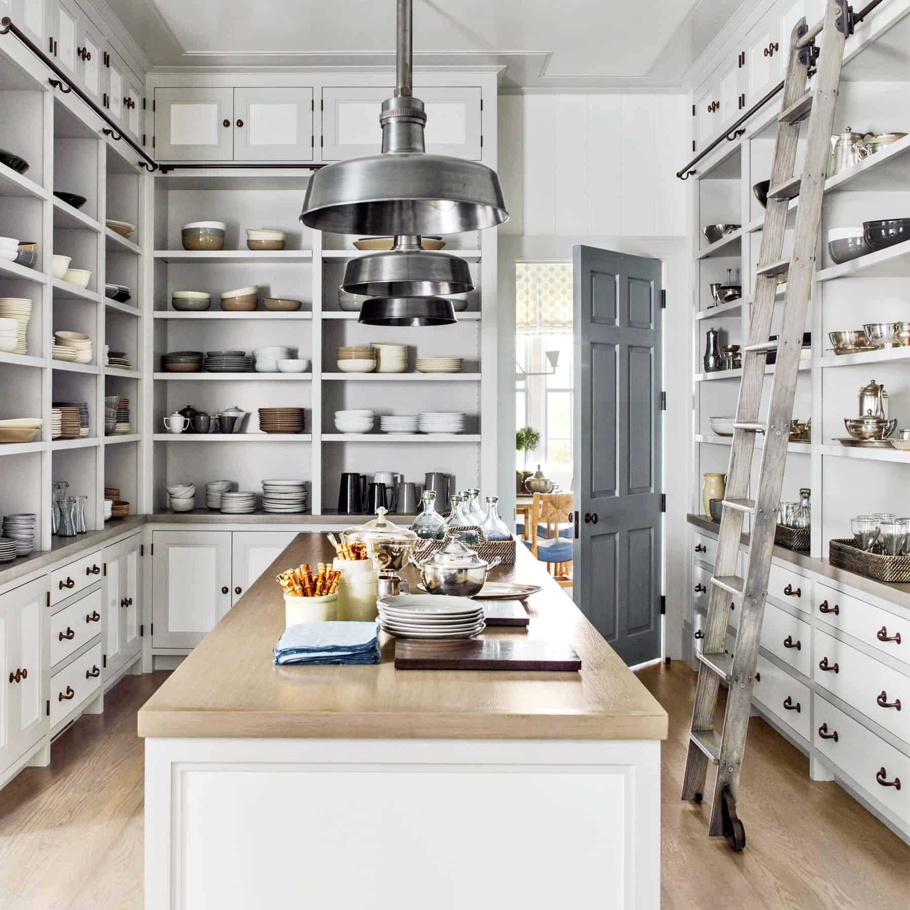 kitchen with butler doors