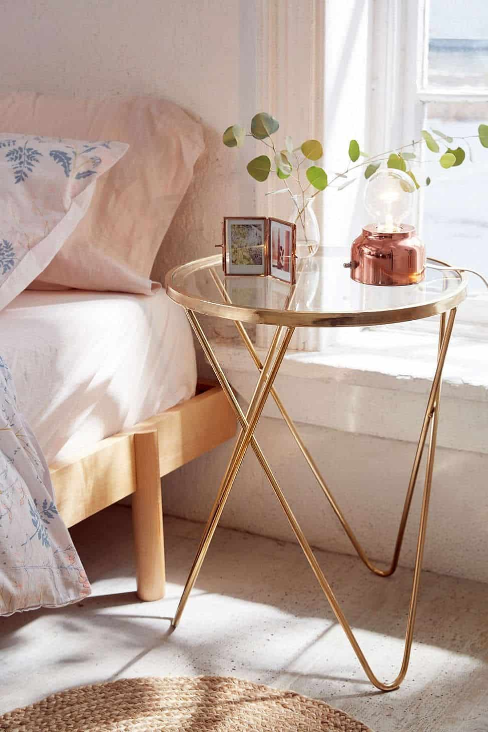round side table Unique Nightstands that are all the Rage