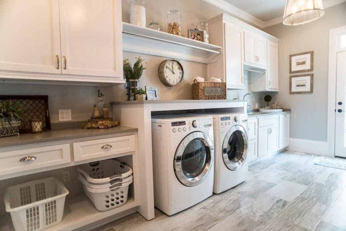 rustic laundry Modern Rustic décor the only decorating style your truly need