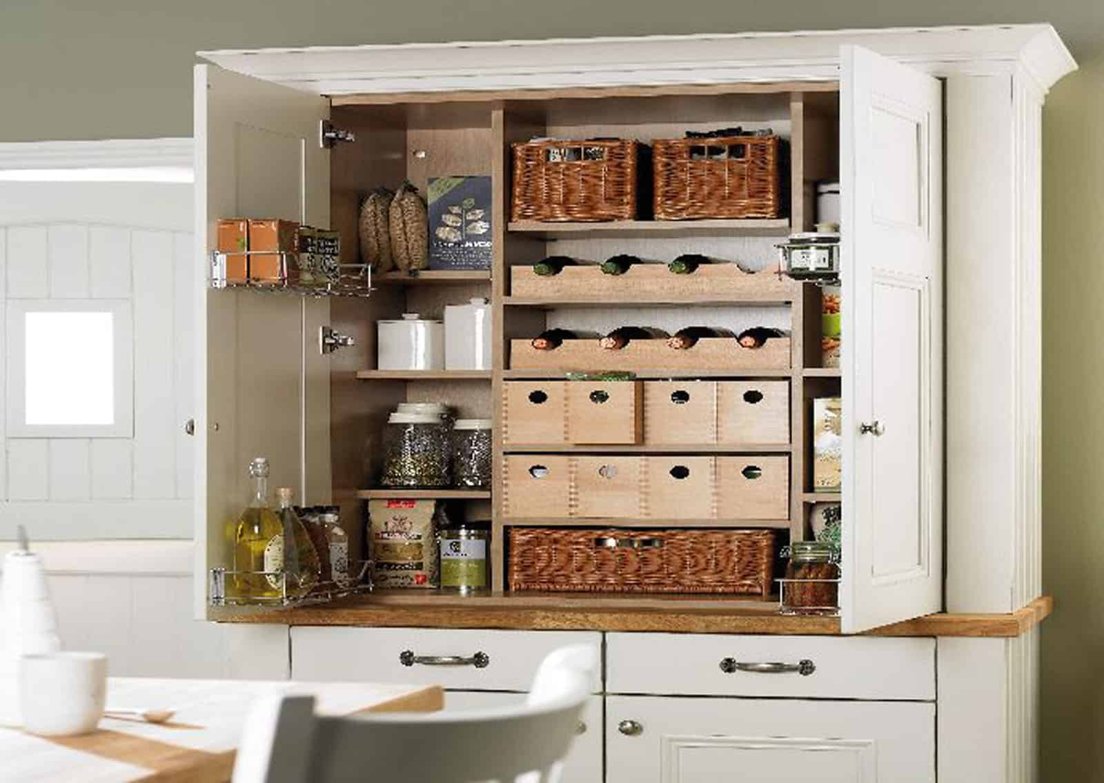 smaller pantry