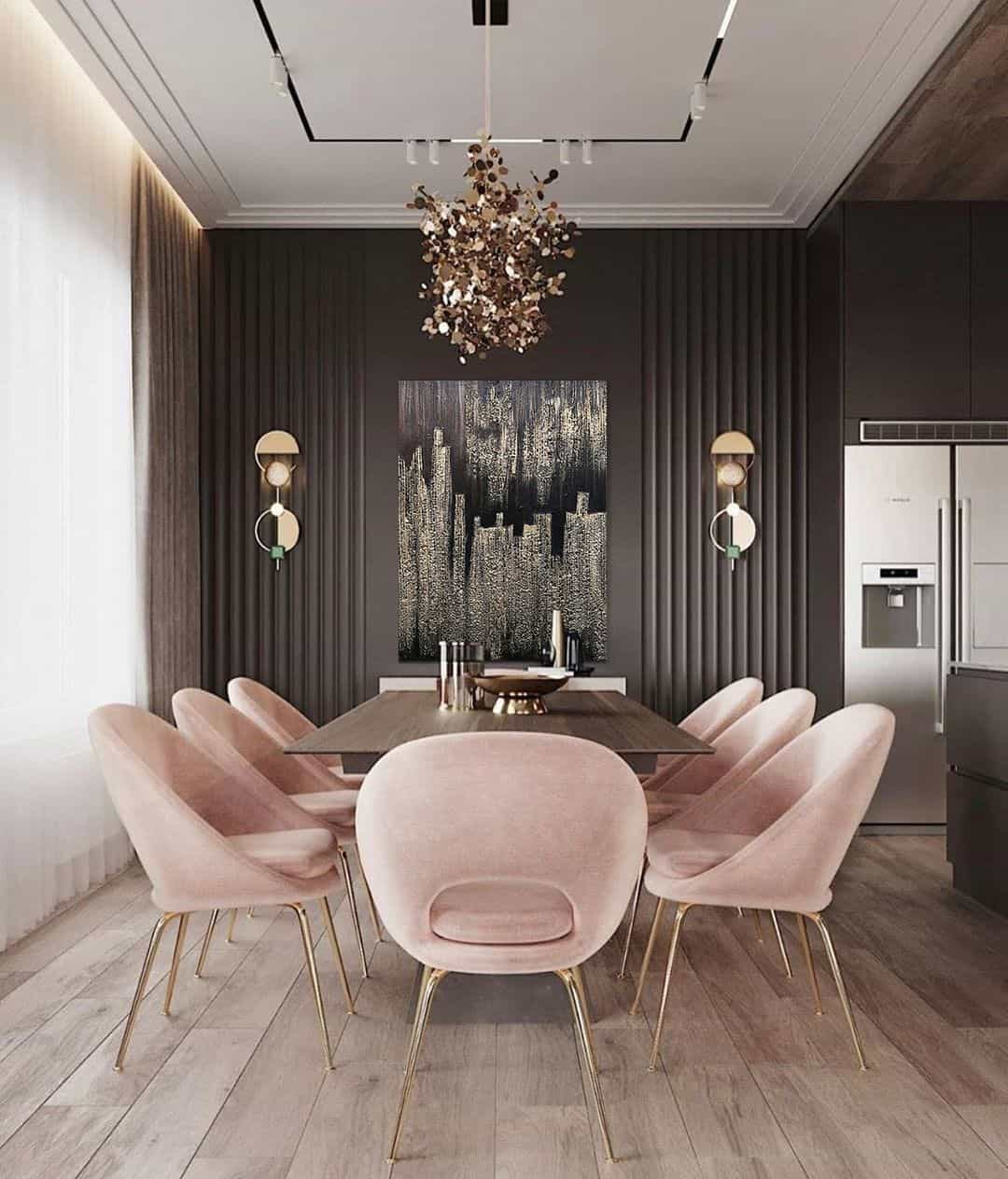 personality in dining room