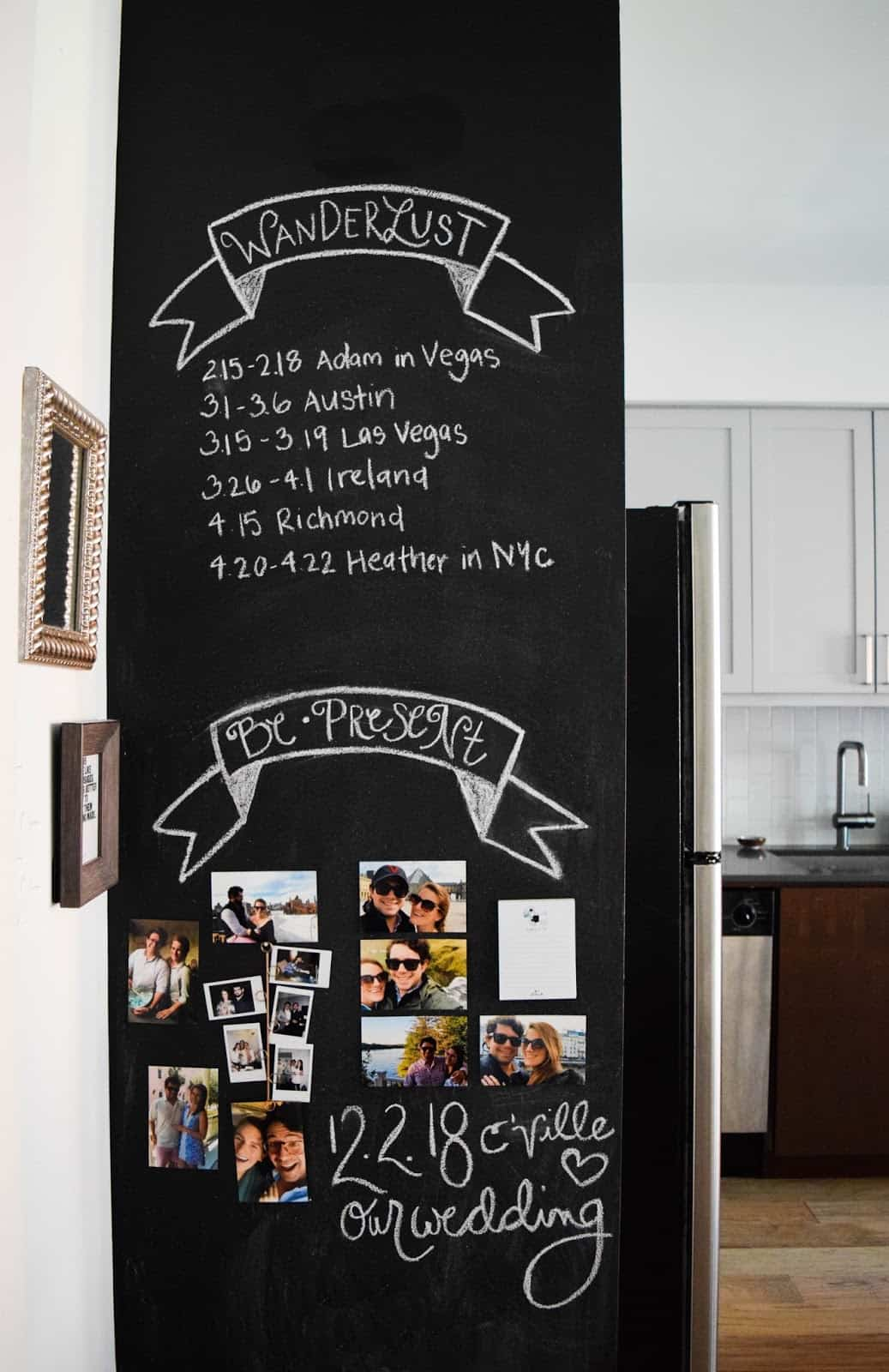 chalkboard wall Invigorating Pantry Door Ideas Smart Space Organization