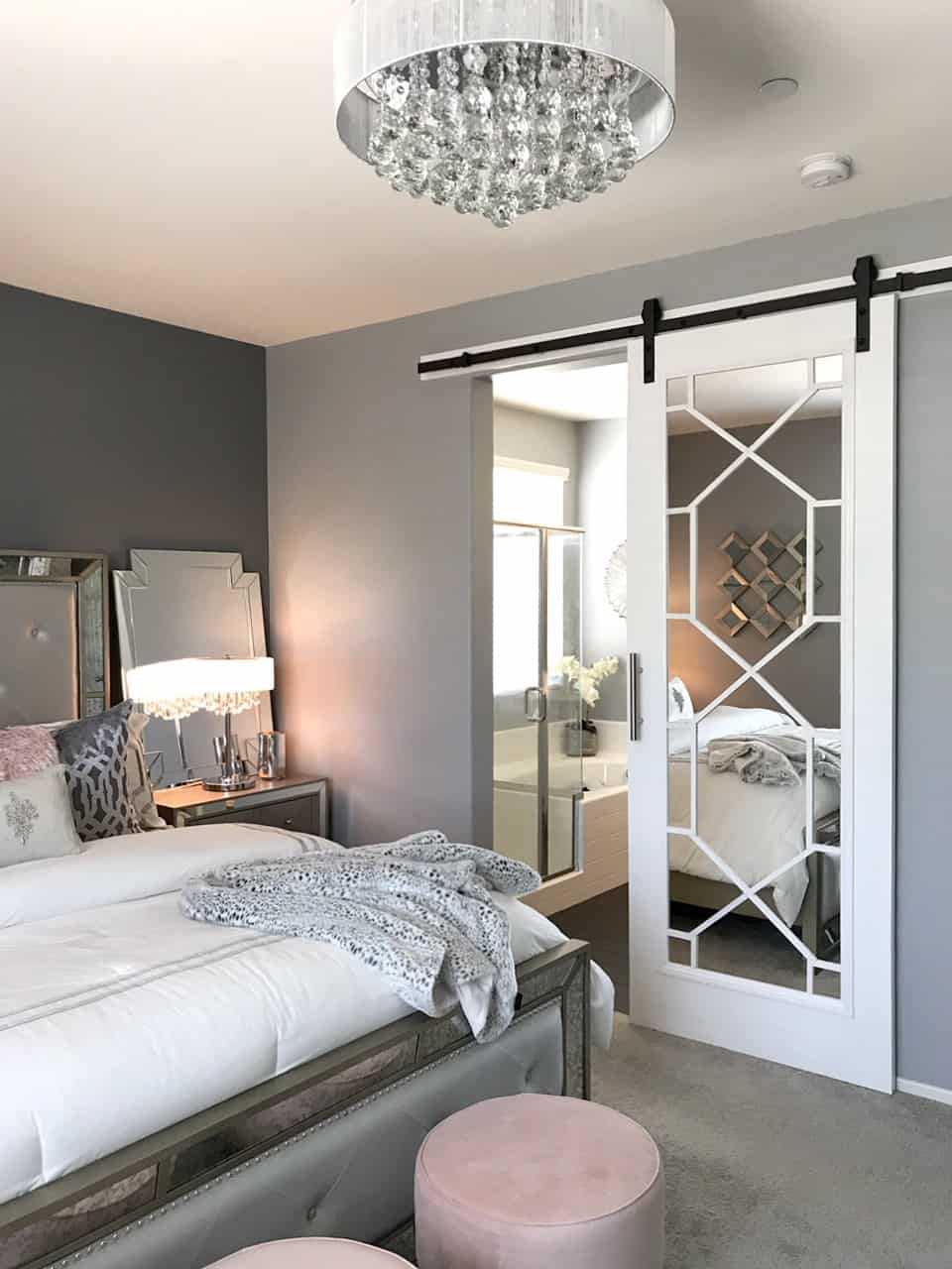 glam barn doors