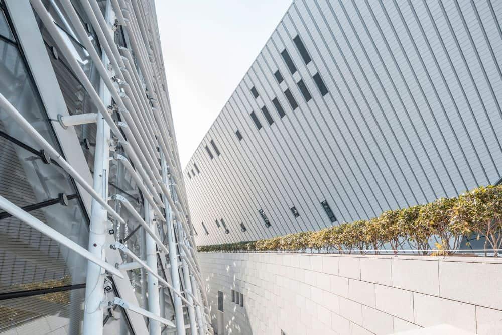 The Fuzhou Strait Culture and Art Center – cladding