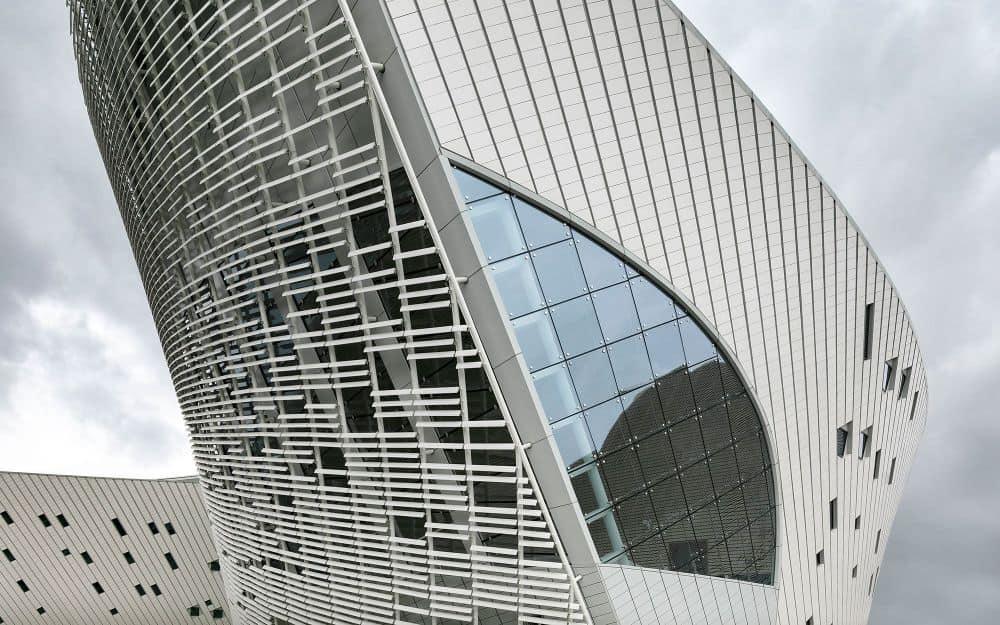 The Fuzhou Strait Culture and Art Center – facade