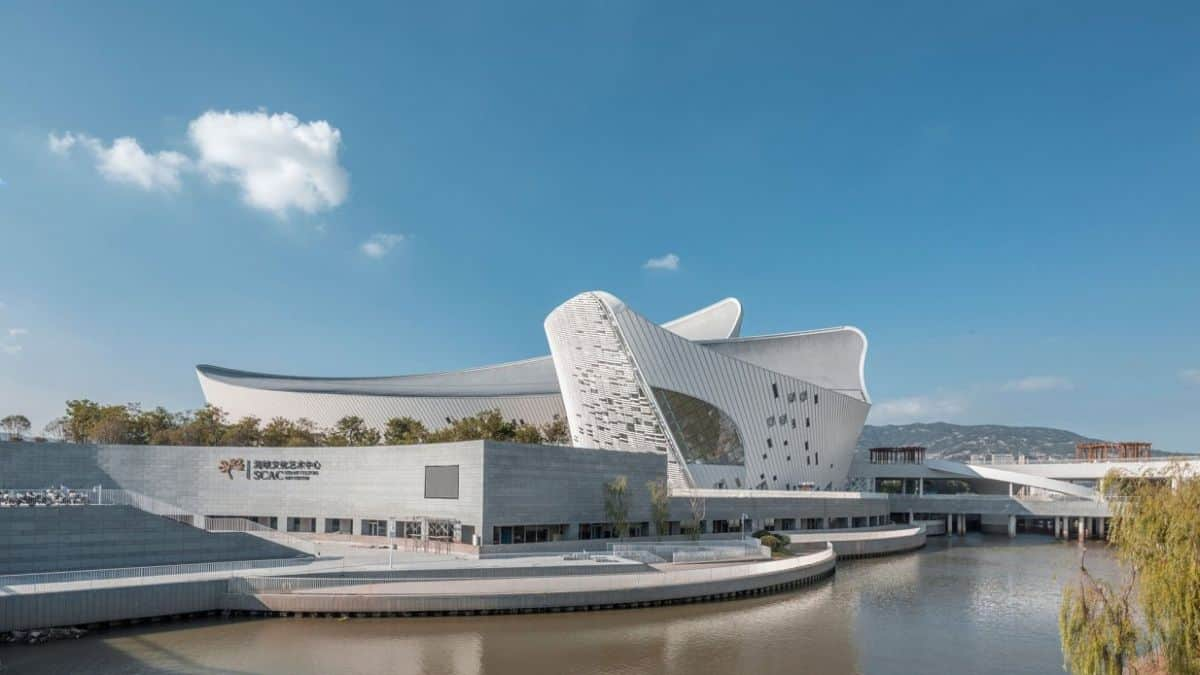 The Fuzhou Strait Culture and Art Center