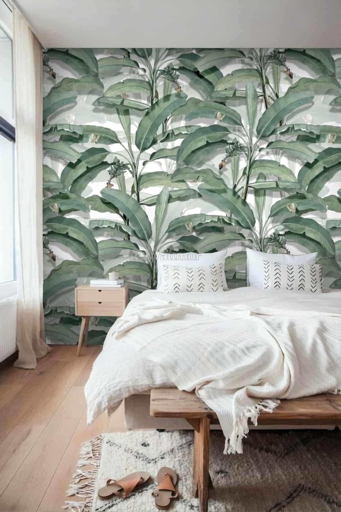 banana leaf wallpaper 2