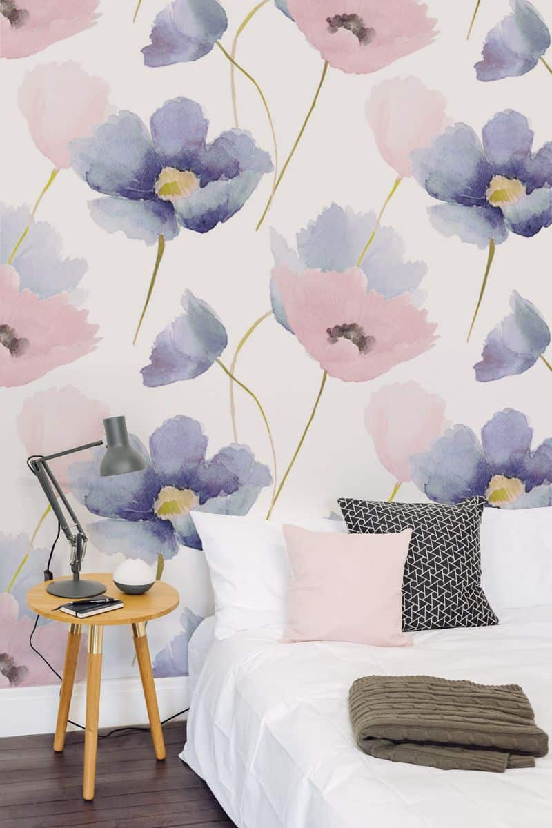 busy floral wallpaper Bedroom Wallpaper ideas to Modernize your Bedroom