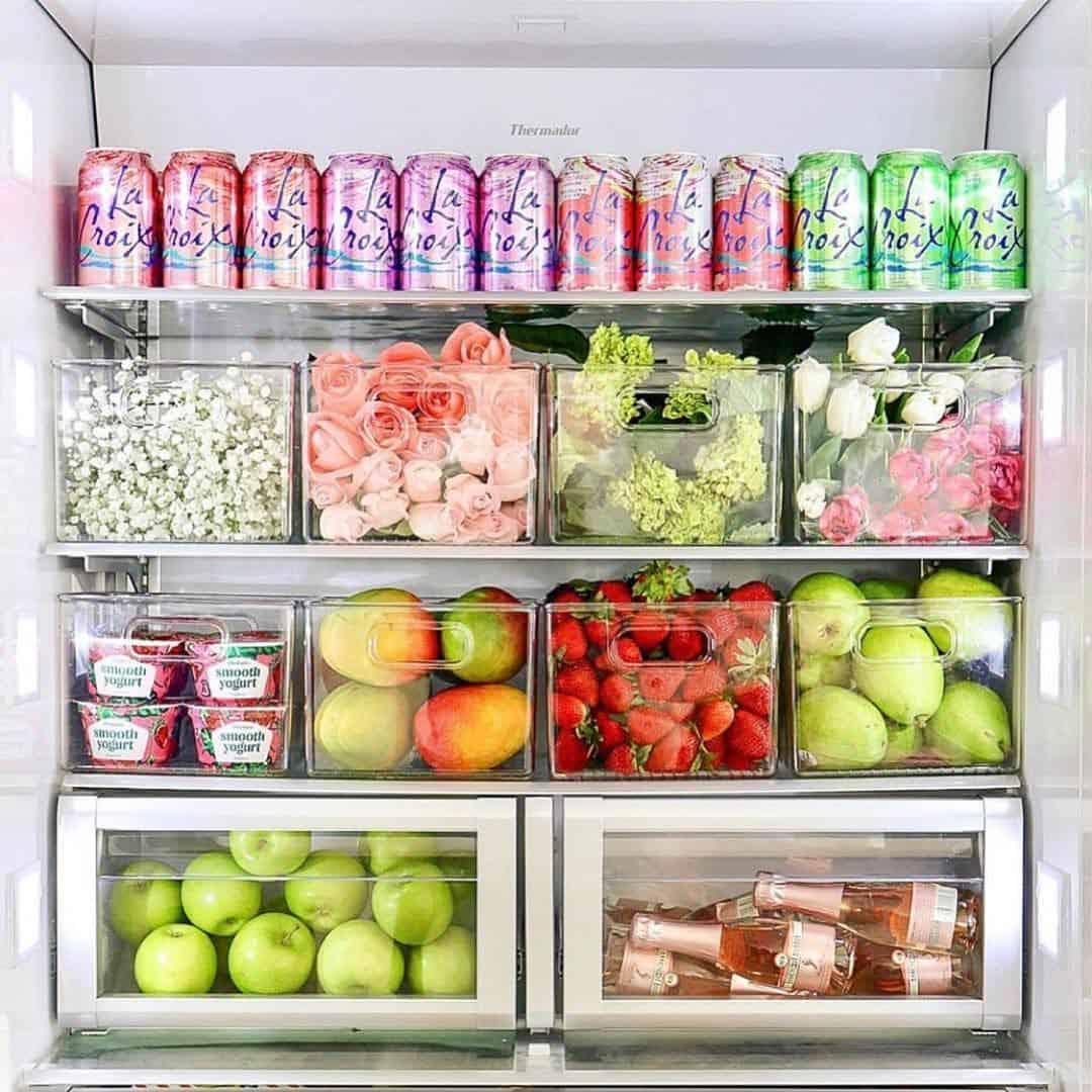 divide the fridge
