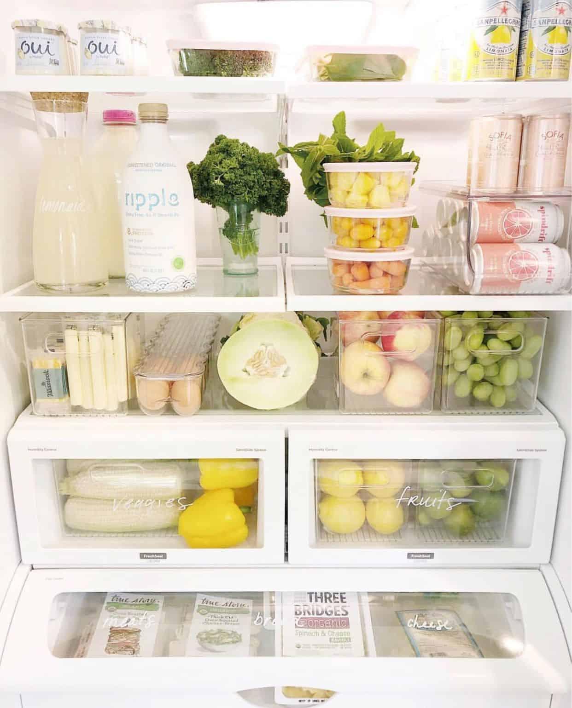 minimal fridge