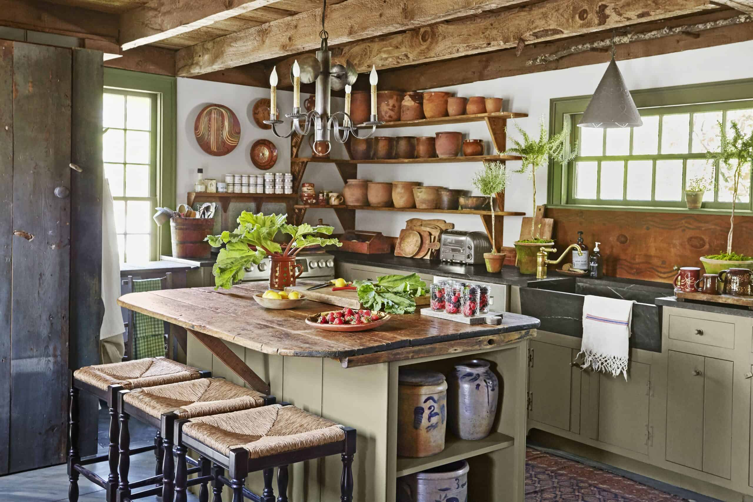 farmhouse appeal for the ktichen scaled Cool Stress free Kitchen Updates for 2020