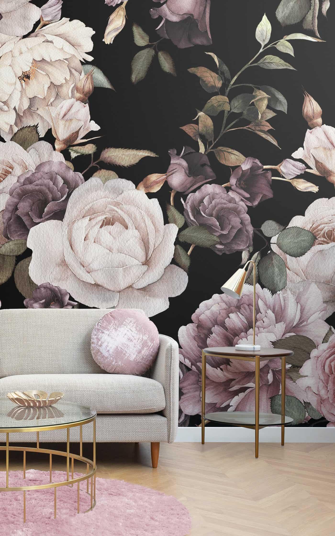 foral wallpaper