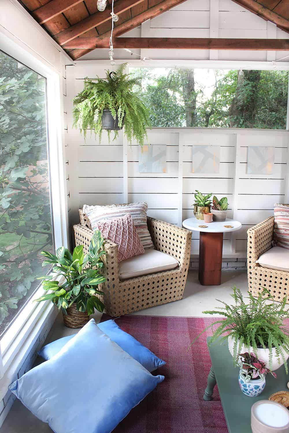 greenery in patio