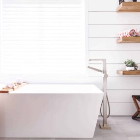 Smart bathroom shelving ideas to make your space feel larger