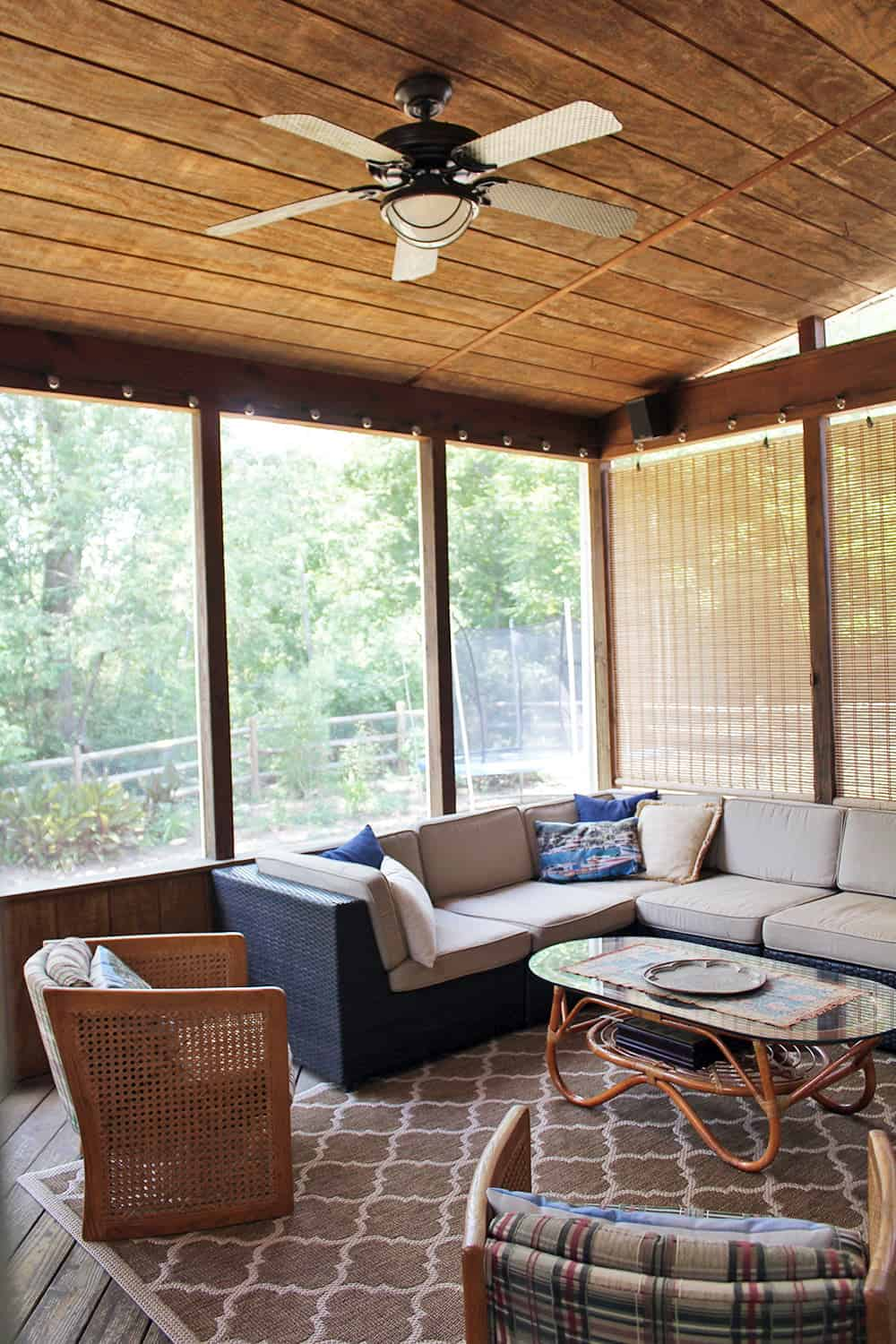 Charming Screened Patio - Porch Ideas on Patio Ideas 2020 id=45014
