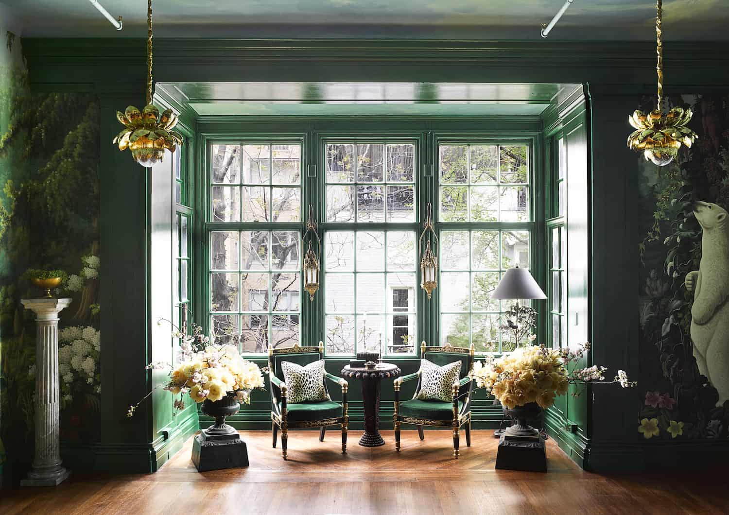 entry way color Foyer decor ideas that are perfect for this year