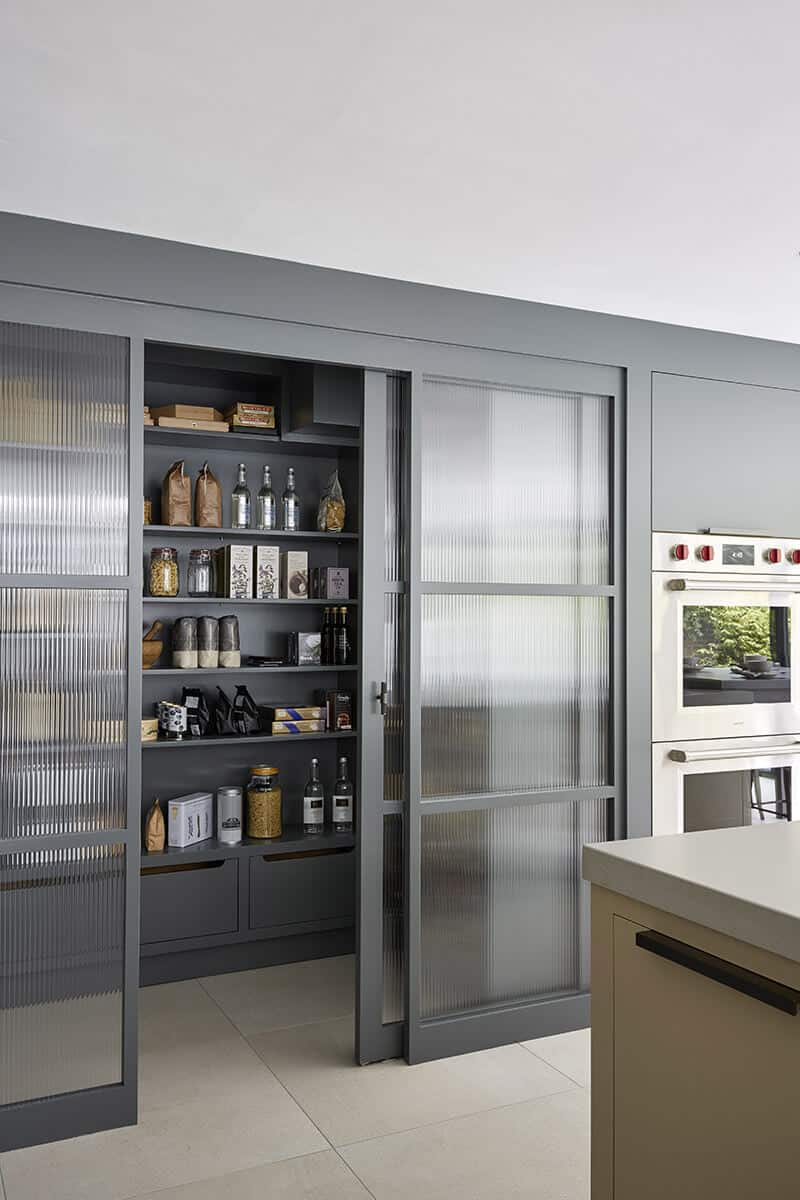 screened pantry