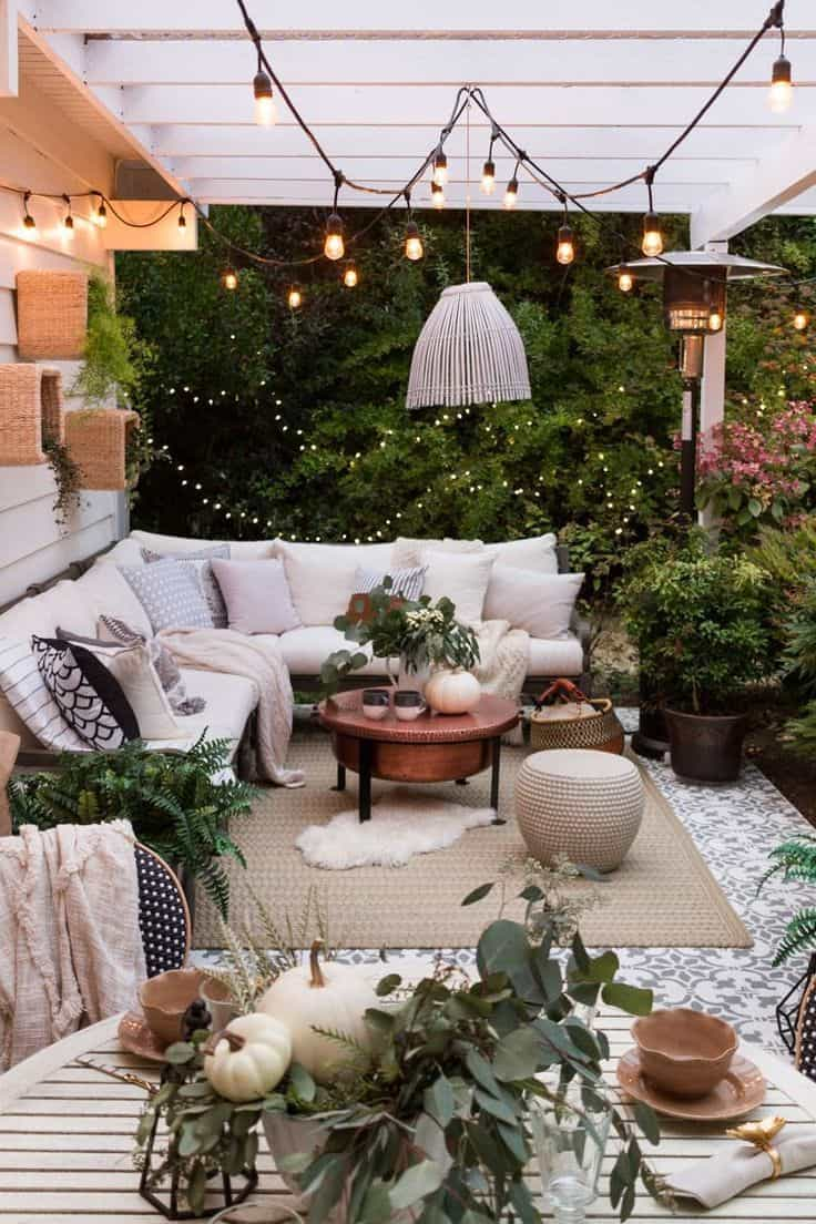 outdoor light and ceiling Outdoor Summer décor ideas that is too good to not indulge in