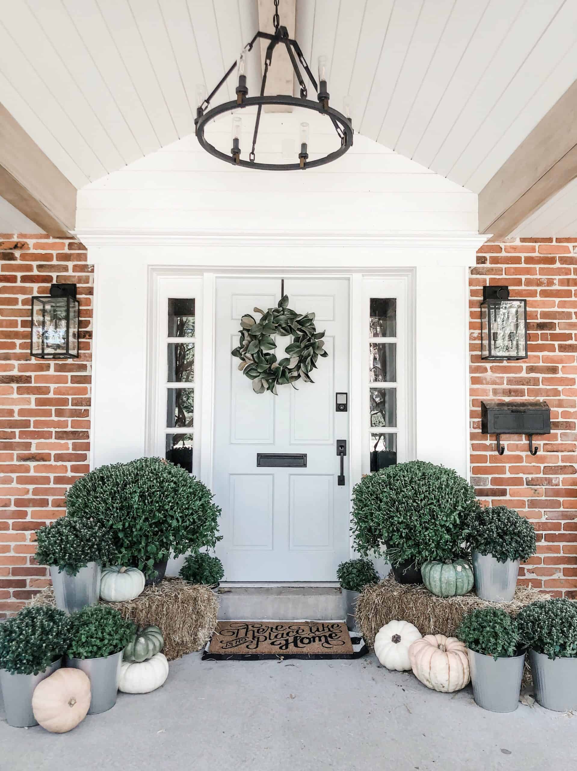 wreath fall scaled Updated Fall Porch Décor For 2020