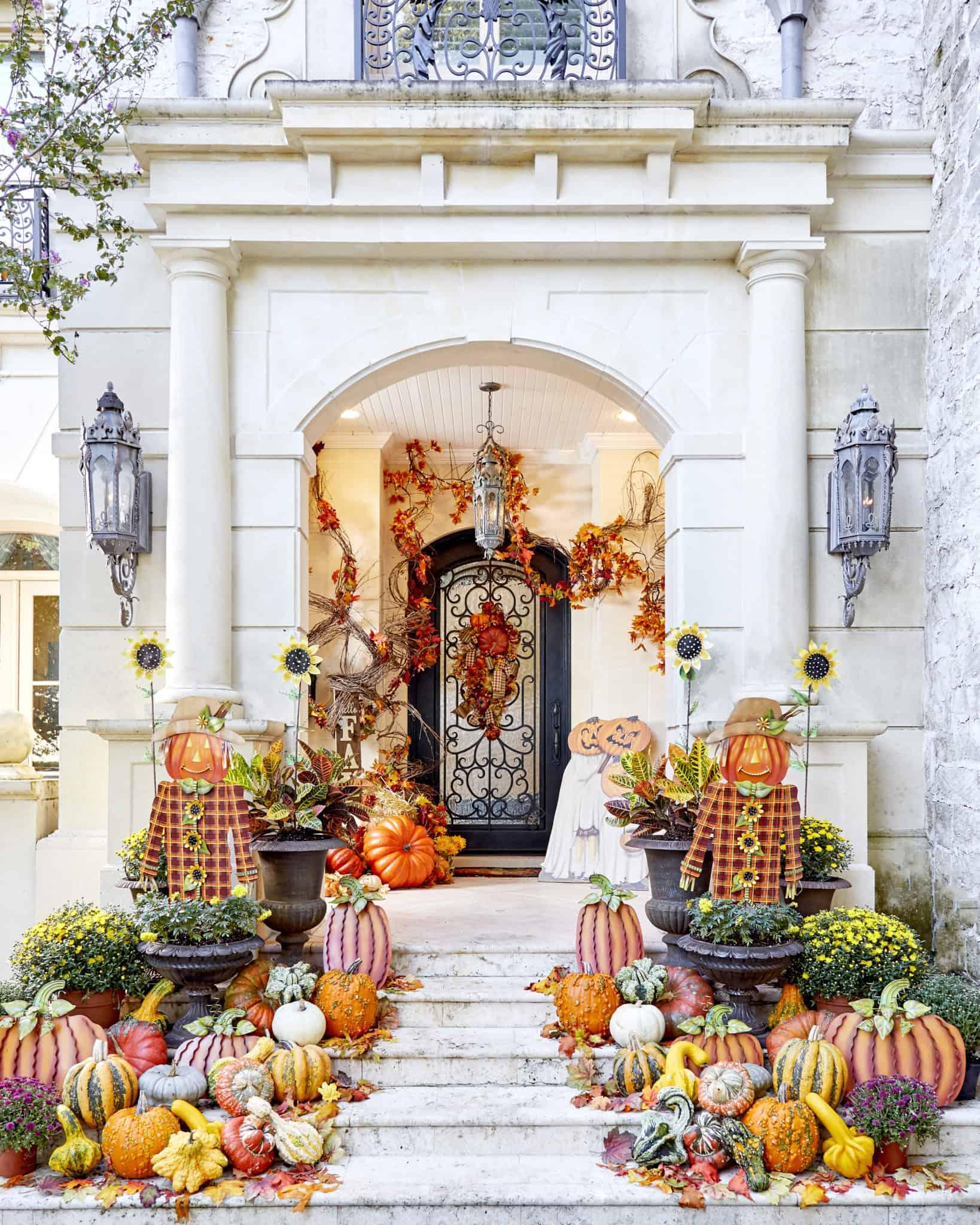 halloweeen porch picture