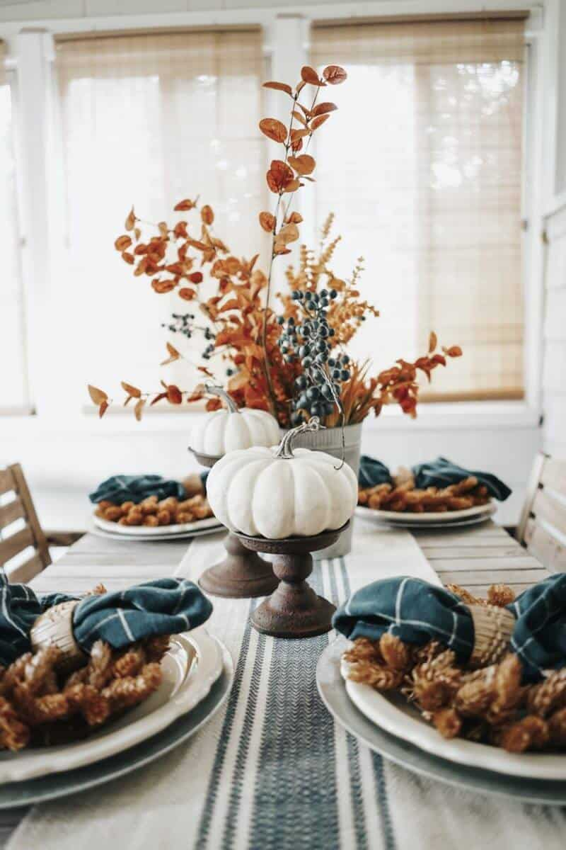 mix and match thanksgiving 10 Quarantine Thanksgiving Dining Table Ideas