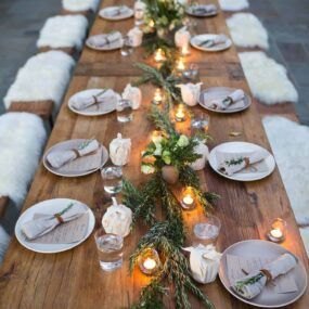 Enchanting Christmas Table Setting Ideas