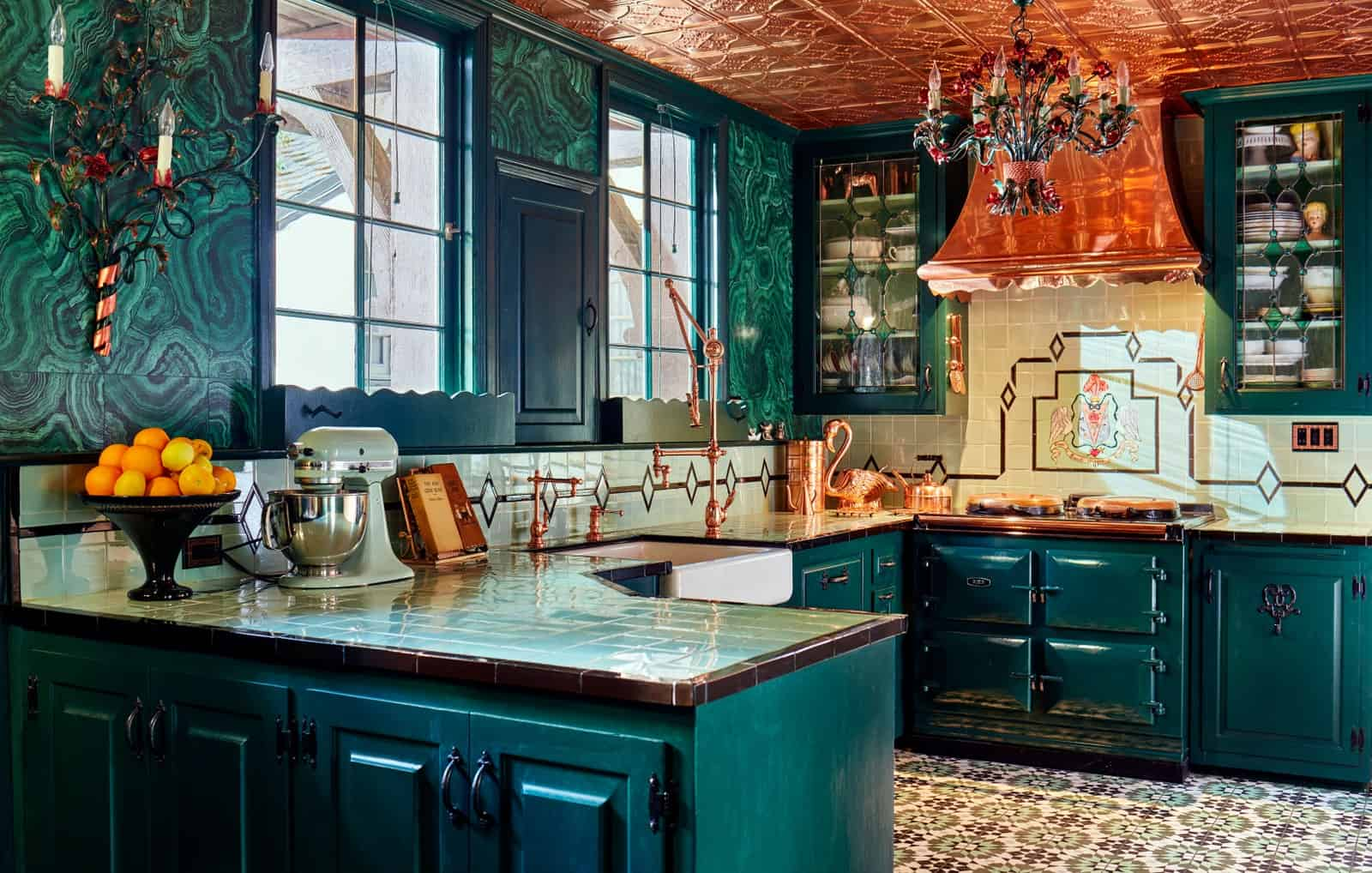 copper appeal Kitchen trends for 2021 that are the rage