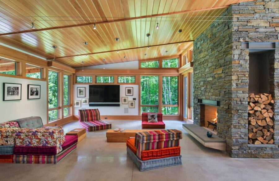 Contemporary Mountain Getaway Flavin Architects 09 1 Kindesign 900x584 25 Rustic Modern House Design Ideas to Inspire You