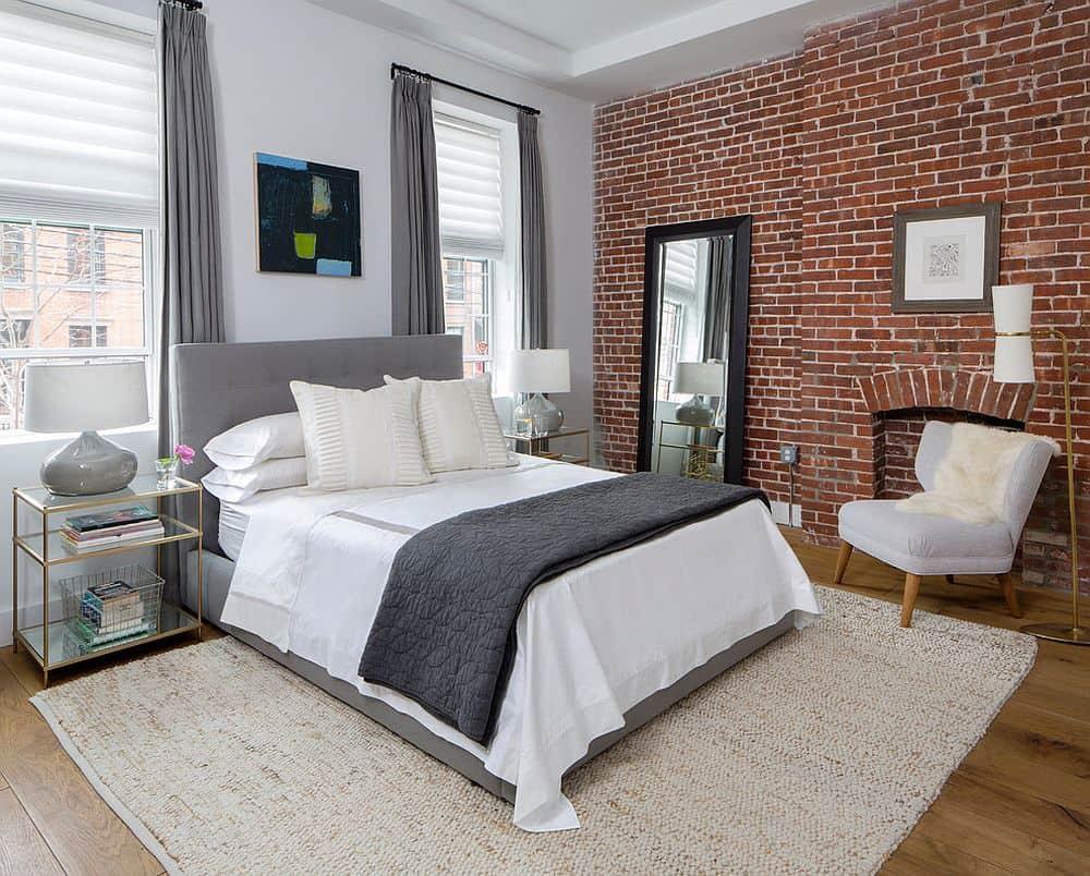sidetables in bedroom