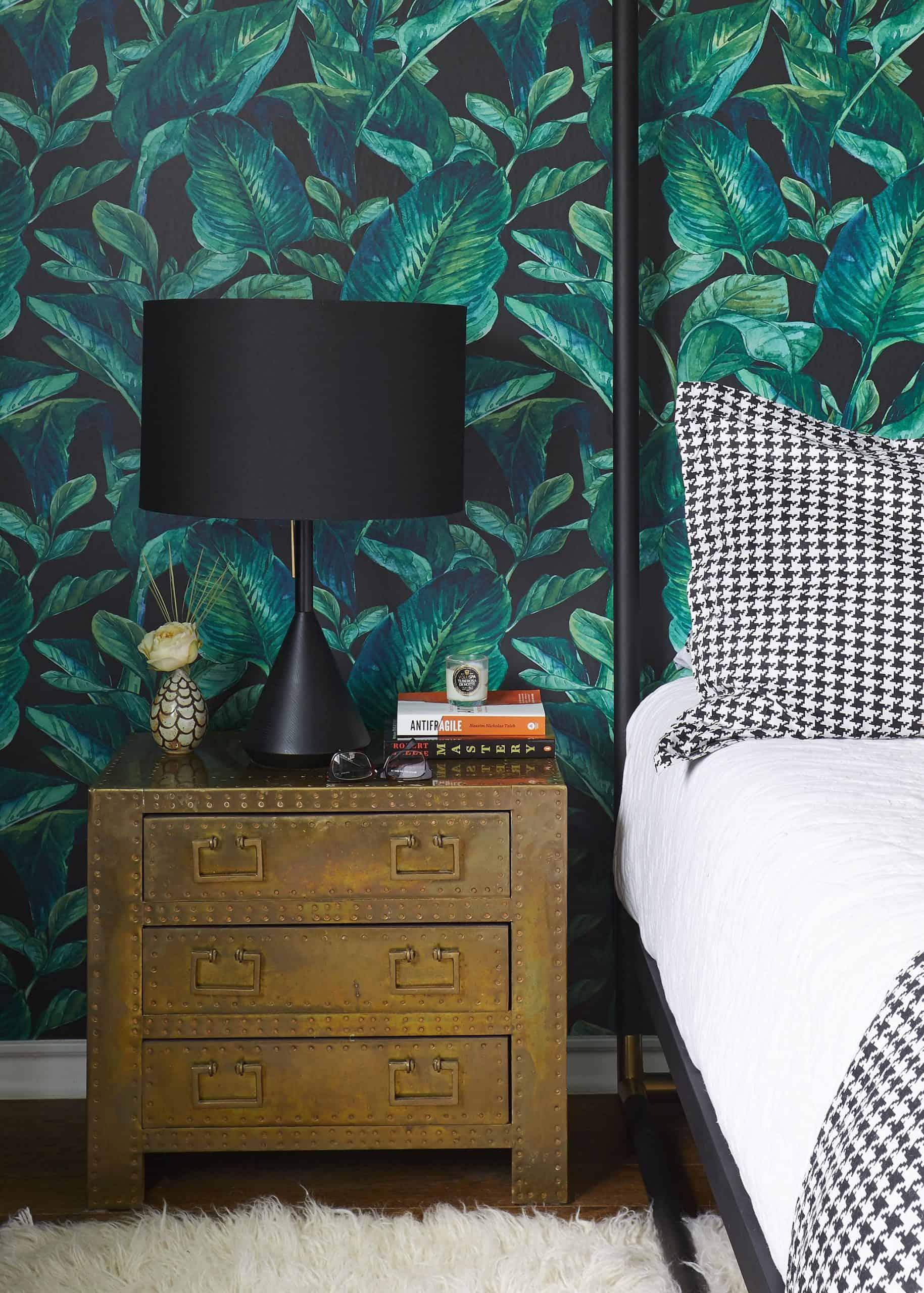 pattern in bedroom